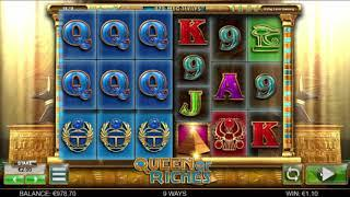 Queen of Riches slot from Big Time Gaming - Gameplay
