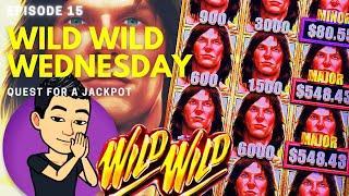 WILD WILD WEDNESDAY! QUEST FOR A JACKPOT [EP 15]  TARZAN GRAND Slot Machine (Aristocrat)