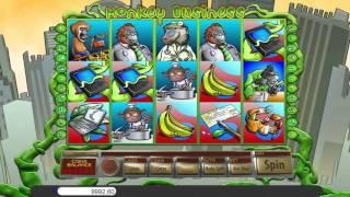 Monkey Business• free slots machine by Saucify preview at Slotozilla.com