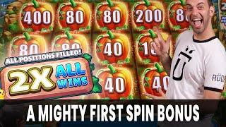 A MIGHTY First Spin Bonus  FarmVille Mighty Cash! #AD