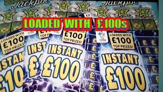 """Loaded £100.INSTANT.£100.& £20,000 JACKPOT.Scratchcards.(DON'T FORGET TO""""LIKE""""For Game Later tonight"""