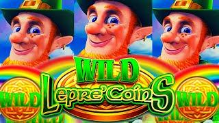 MORE RAINBOWS PLEASE!  WILD LEPRE'COINS GOLD RESERVE Slot Machine (Aristocrat Gaming)