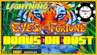 ️HIGH LIMIT Lightning Link Eyes Of Fortune  ️Dragon Link Peace & Long Life Slot Machine Casino