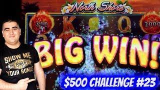 Bonuses Won On Ultimate Fire Link Slot & Konami Slots | $500 Challenge To Win At Casino EP-23