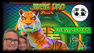 NEW SLOTS!  JINSE DAO TIGER  ATHENA UNLEASHED