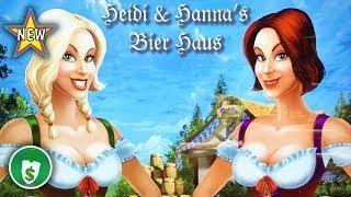 •️ NEW - Heidi & Hanna's Beir Haus slot machine, 2 bonuses and Lyrics a