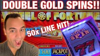 Wheel of Fortune GOLD SPIN $10 MAX BET WINS!!  | Wheel of Prosperity Dragon