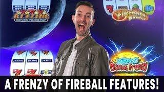 FIREBALL!  Frenzy of Features  Welcome to FANTASTIC Jackpots!  Ho-Chunk Gaming Madison
