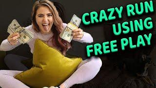 Most AMAZING Casino Morning EVER! $790 Freeplay into $40,000!