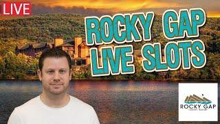 $7500 Bank The Bonus  2 Live Jackpots from Rocky Gap Casino Resort