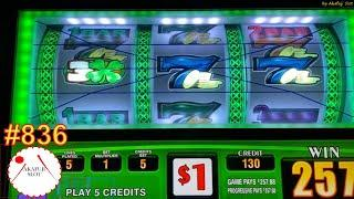 Triple Lucky Four Leaf Clover Slot & Double Double Gold Free Games Slot 3 Reels Slot 赤富士スロット