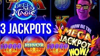 MASSIVE HANDPAY JACKPOT On Drop & Lock Slot - $50 MAX BET   Winning Money On Slots