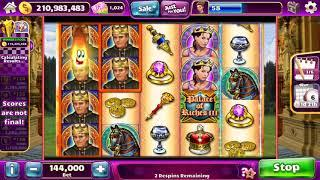 PALACE OF RICHES III Video Slot Casino Game with a SUPER RESPIN BONUS