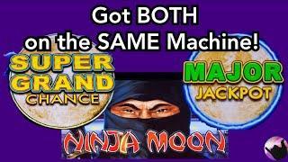 I Won the SUPER GRAND CHANCE and MAJOR JACKPOT on the SAME Machine! Dollar Storm Ninja Moon