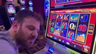$10 Double Top Dollar - $30/Spin - High Limit Slot Play With JERRY!!!!!!