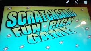 SCRATCHCARDS..VIEWERS PICK THEM....& BIRTHDAY BASH..