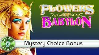 Flowers of Babylon slot machine Mystery Choice Bonus