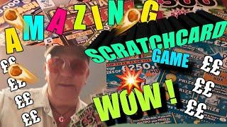 •It's Amazing game of Scratchcards•on tonight game•all I can say•WATCH IT AND SEE•