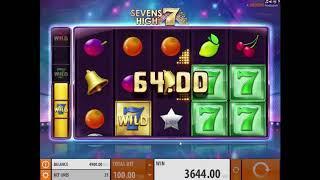 Sevens High slot from Quickspin - Gameplay