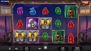Top Dawg$ Slot - MEGA Big Win Free Spins!