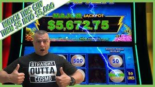 AMAZING!!! Guy Turns $5 Into Over $5,000!1000x His Bet!