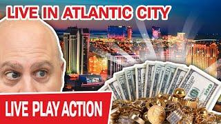 We Are LIVE in ATLANTIC CITY!  Casinos Beware: I'M COMING AFTER YOUR MONEY