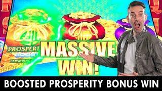 NEW BOOSTED Prosperity Bonus  MASSIVE WIN at San Manuel Casino