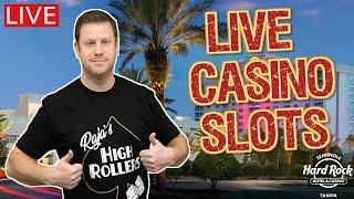 Live Slots at The Hard Rock Tampa  Lock It Link - Huff N Puff vs Piggy Bankin vs Eureka Blast