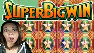 Super Big Wins on Konami  Slot Queen's getting Lucky