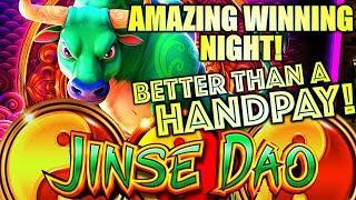 AMAZING WINNING NIGHT! HUGE WIN!! I COULDN'T STOP WINNING! JINSE DAO OX Slot Machine (SG)