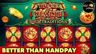 FLASHBACK-14BETTER THAN HANDPAY TREE OF WEALTH $8.80 MAX BET BONUS SLOT MACHINE | SLOT ARMY