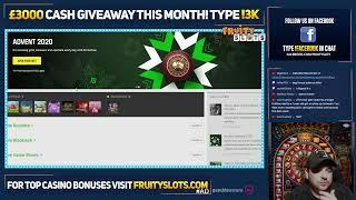 LIVE ONLINE SLOTS! Type !latest | New Casino Free Giveaway type !lab