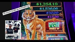 How many $20's does it take to get a bonusFull screen double up on Mighty Cash Double Up