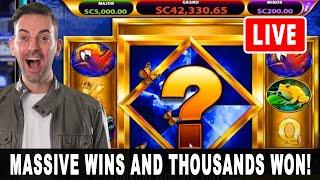 LIVE SLOTS & MASSIVE WINS  MORE than a Double Up!  PlayChumba Social Casino BCSlots #AD