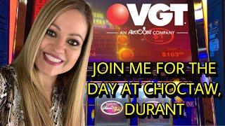 A DAY AT CHOCTAW, DURANT VGT SUNDAY FUN'DAY