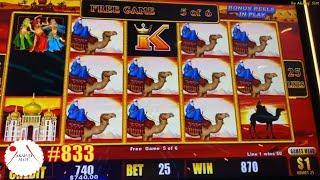 Jackpot on Free Play High Limit Lightning Cash High Stakes Slot & Sahara Gold Slot Big Win 赤富士スロット