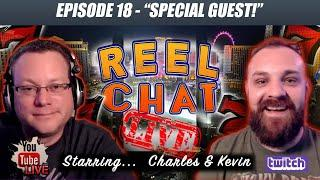 REEL CHAT LIVE  WITH SPECIAL GUEST & WE'LL TAKE YOUR CALLS TONIGHT  SLOT FAQ
