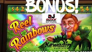 Rainbow Reels Slot Machine  BONUS FRGEE $PIN$