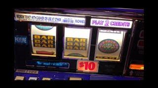 Triple Double Diamond High Limit $20/spin *Big Win* Handpay! $20/spins Haywire, Cigar & Triple Stars