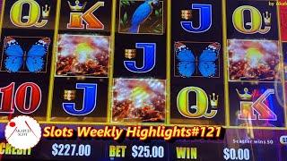 Slots Weekly Highlights#121 for You who are busyUnpublished video Jackpot Hand Pay Tiki Fire Slot