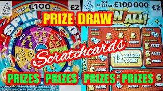 Wow!....SCRATCHCARDS..and...SCRATCHCARD PRIZE DRAW....FUN...SING-A-LONG...AND MORE