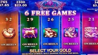 Dragon Fury Slot Machine Bonus | Wealth of Dynasty Slot Machine Bonus | Wicked Winnings BIG Line Hit