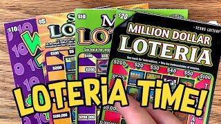 A NEW COMBO! MORE Wild 10s + LOTERIAS!  TEXAS LOTTERY Scratch Off Tickets