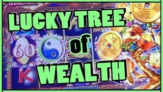 +LUCKY Tree of Wealth  HIGH LIMIT SLOTS  Slot Machine Pokies w Brian Christopher