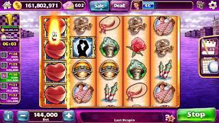 HEARTS OF VENICE Video Slot Casino Game with a SUPER RESPIN BONUS