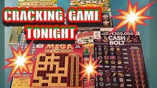 What a CRACKING Scratchcard game..Full £500s..£1 MILLION CASHWORD. INSTANT £100.mmmmmmMMM