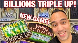 BILLIONS MIGHTY CA$H TRIPLE UP!!!     | Amazing, MUST PLAY New Game!!