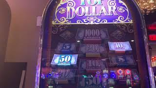 Triple Double Diamond - $25 Double Top Dollar - High Limit Slot Play
