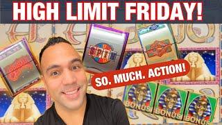 $100 WHEEL OF FORTUNE JACKPOT HANDPAY!! | WINNING HIGH LIMIT FRIDAY!!!