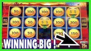 Winning Big on High Limit Lightning Link Sahara !